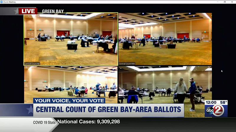 WATCH: Midday voting update in Green Bay