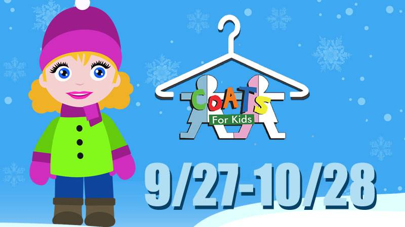 Coats for Kids collects new and gently used winter gear for infants through teens