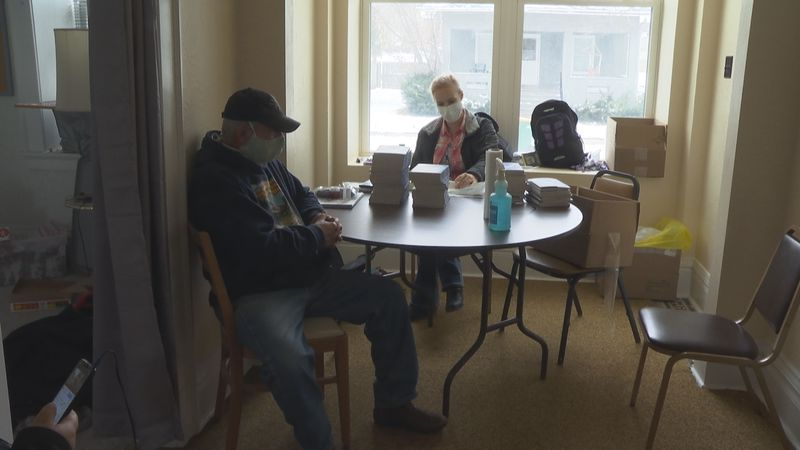Fond du Lac opened a daytime warming shelter earlier this week.