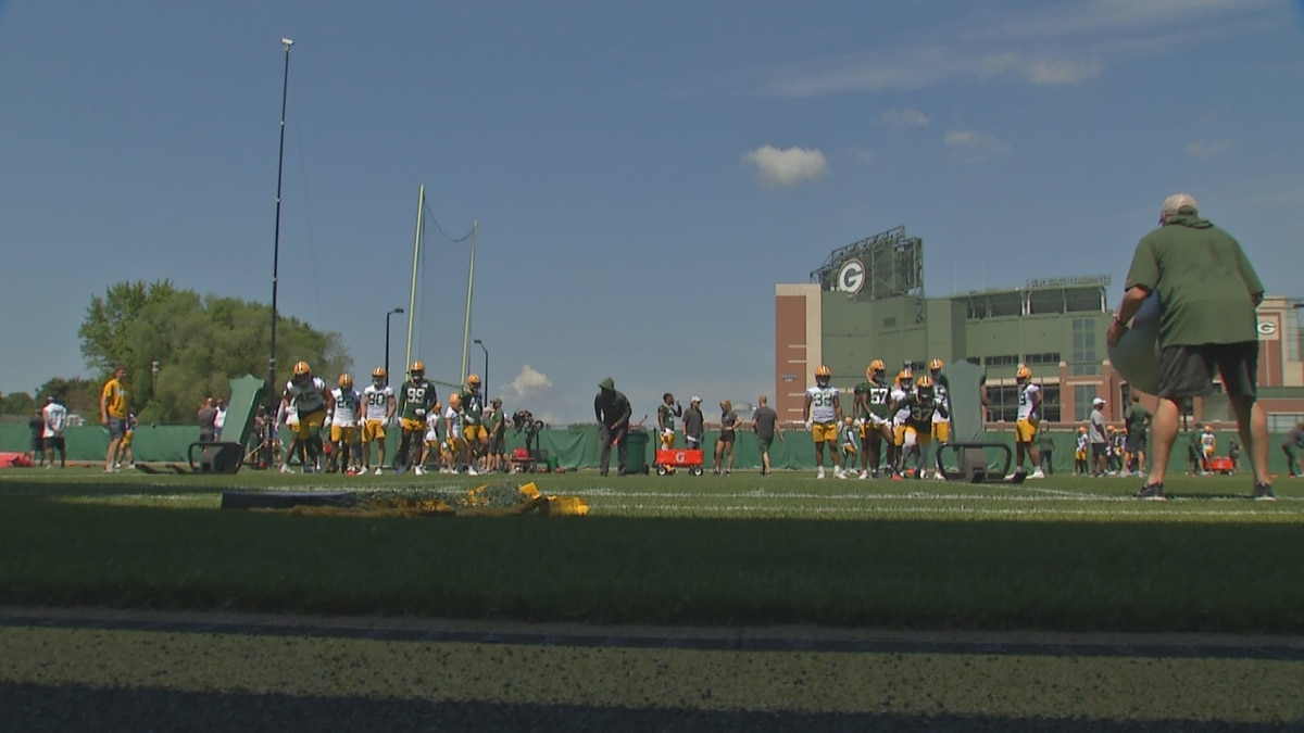 Aaron Rodgers wasn't with the Green Bay Packers for their first mandatory minicamp session...