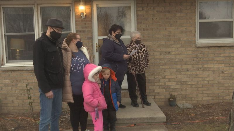A Green Bay family hit by so much adversity this year was surprised with several gifts.