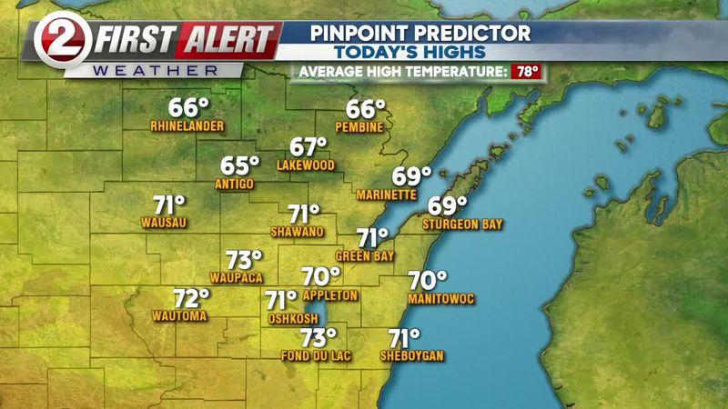 First Alert Weather forecast
