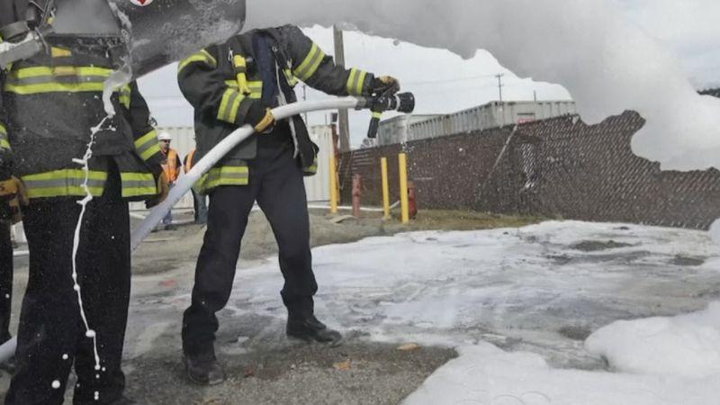 PFAS firefighting foam