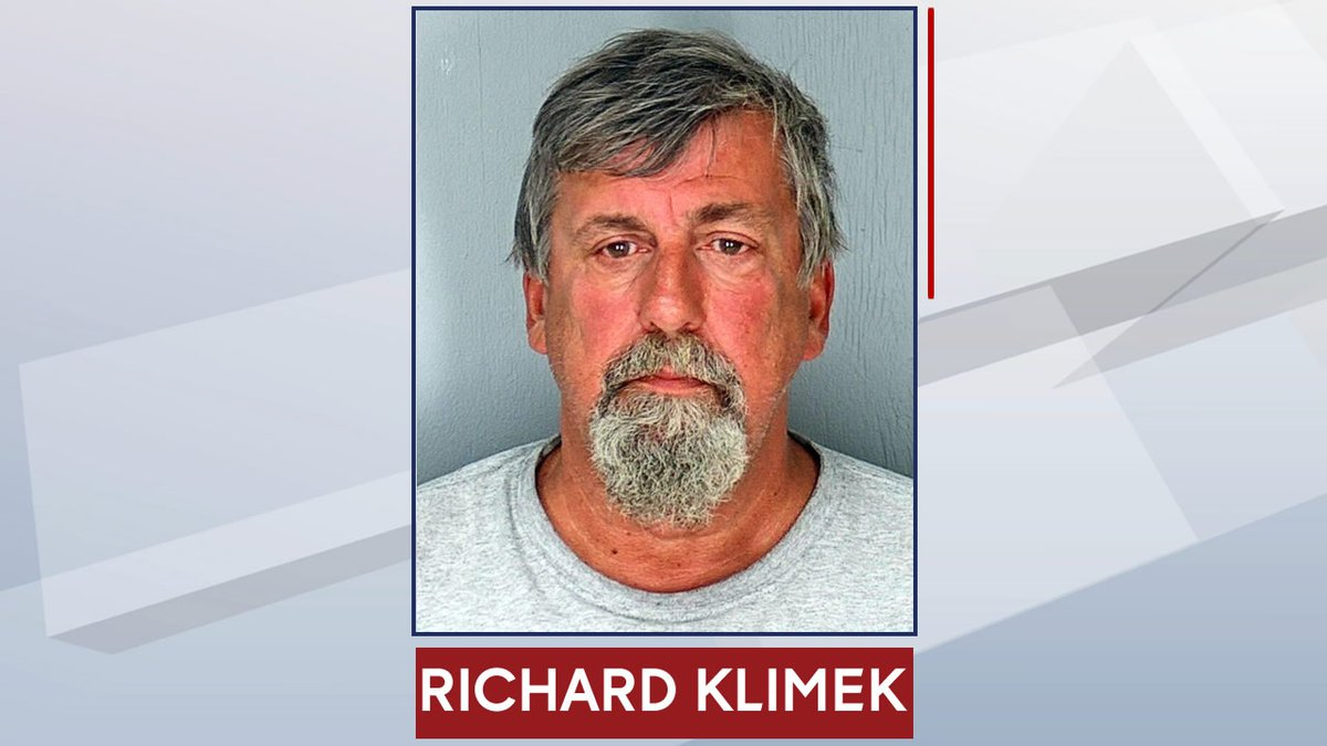 """Richard """"Rick"""" Klimek is accused of repeatedly sexually assaulting a girl at a campground in..."""