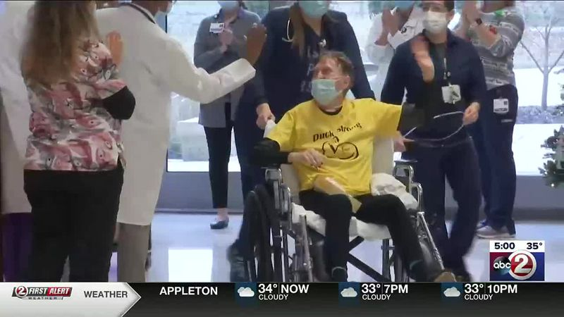 Nancy Van Dyn Hoven leaves the hospital after 84 days being treated for COVID-19