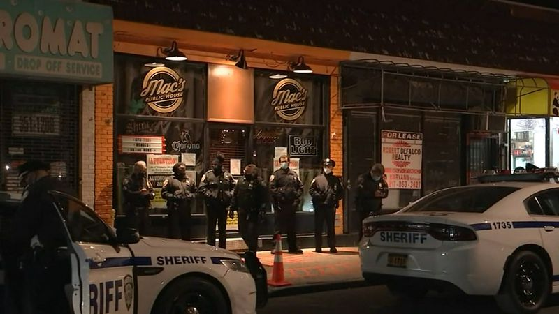 The tavern is in an area designated by Gov. Andrew Cuomo as an orange zone because of spiking...