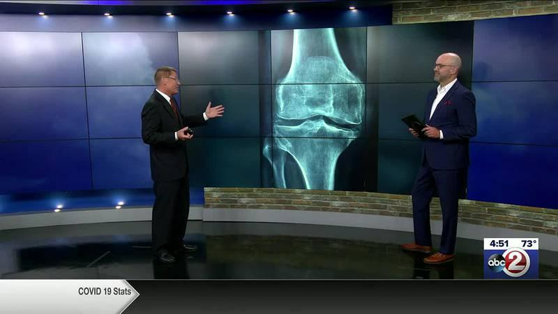 Brad Spakowitz discusses knee damage