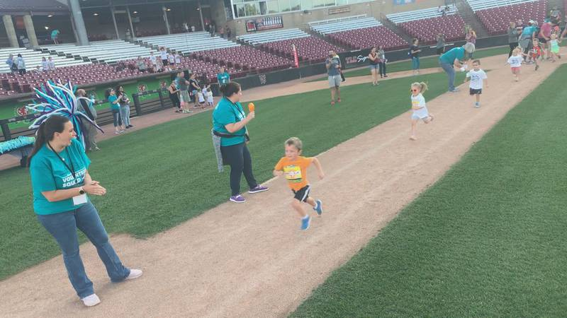 The Fox Cities Marathon kicked off their race weekend at the Timber Rattler Stadium Friday,...