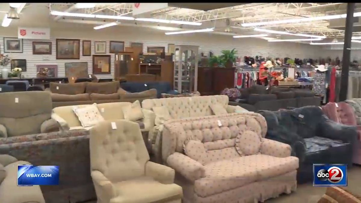 Salvation Army Thrift Store in Green Bay (WBAY file photo)