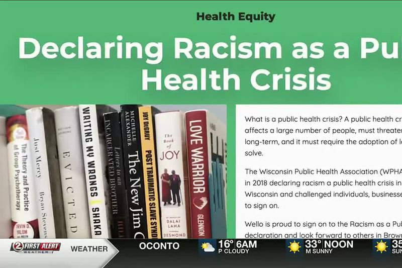 Brown County Board to create an ad hoc committee to address racial equity