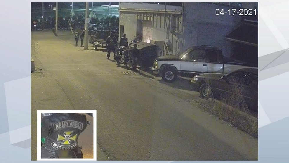 Police say members of Hell's Lovers Motorcycle Club witnessed a deadly stabbing.