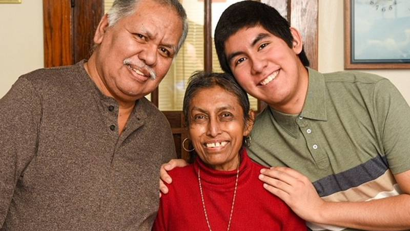 Before she passed away, Margarita received a Unity Gifted Wish to have a family portrait with...
