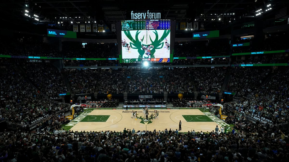 Fiserv Forum, Game 3 of the NBA Finals