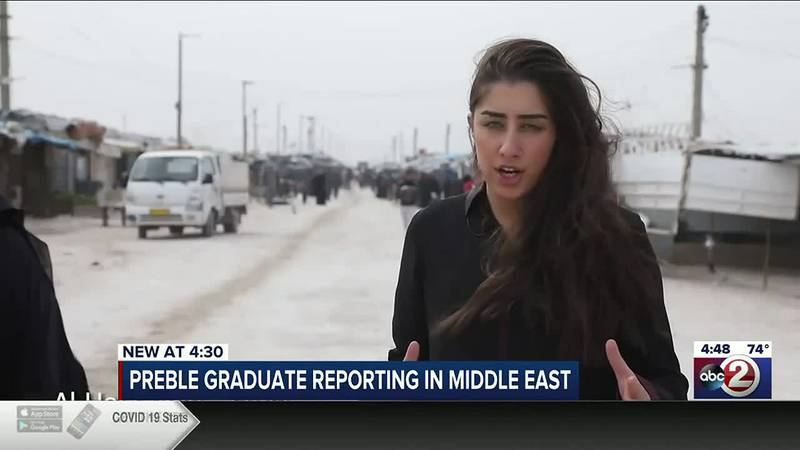 Priyanka Navani, a Green Bay native, reports on the Middle East for Roya News English