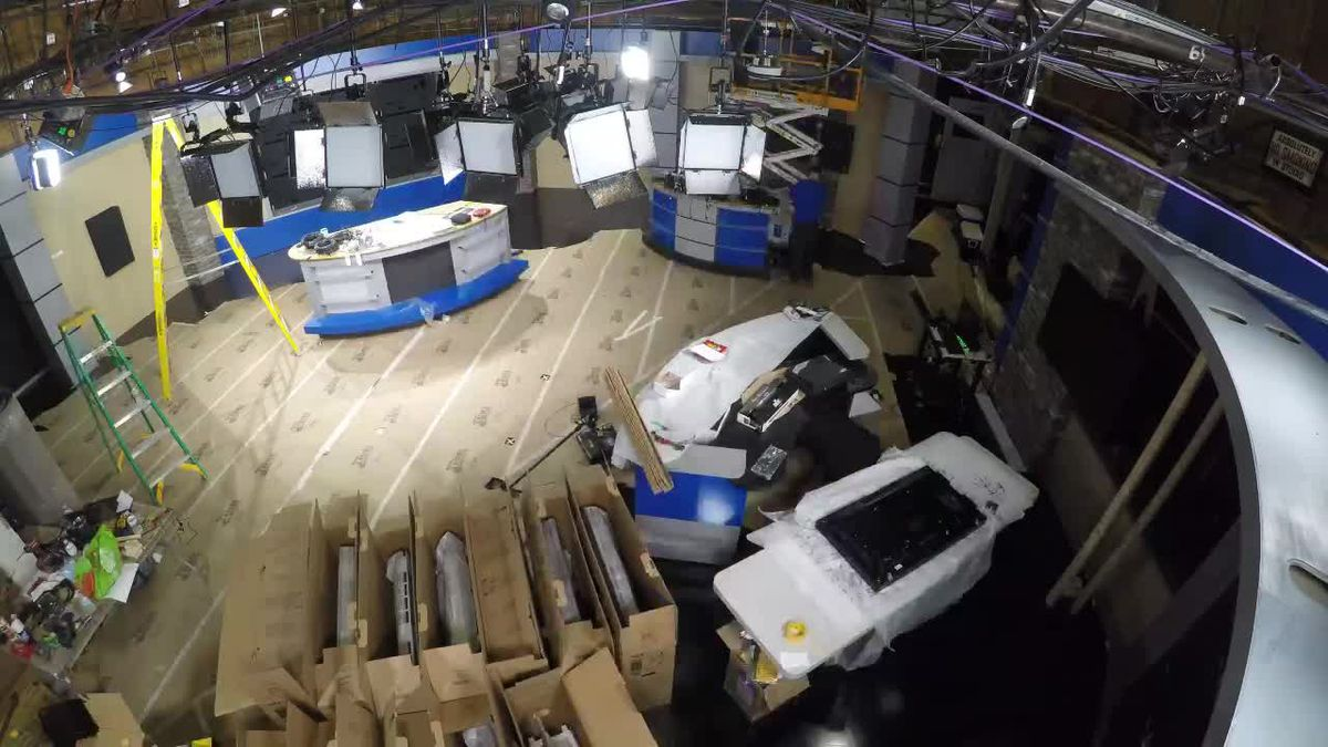 WATCH: New Action 2 News studio timelapse