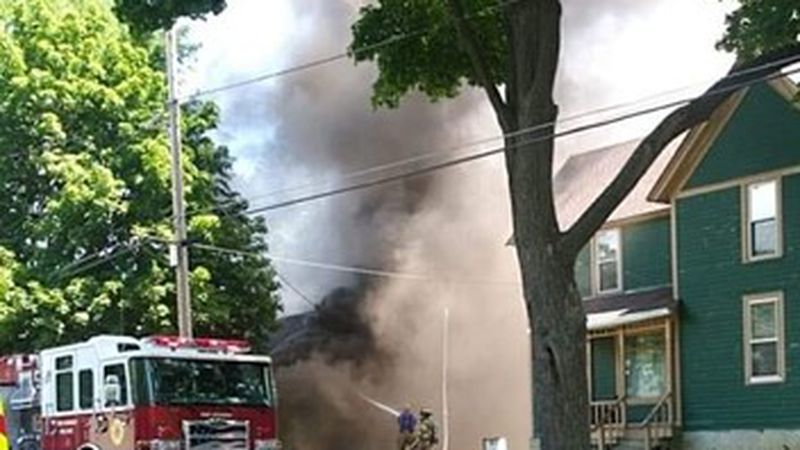 Firefighters respond to house fire on Jun 11.