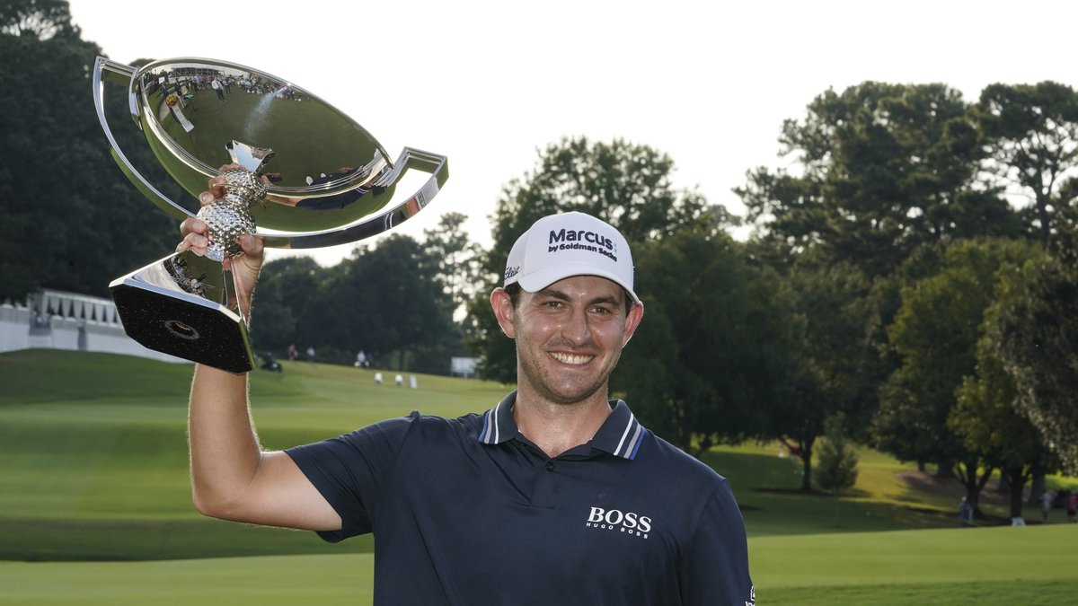 Patrick Cantlay of the US during the final round of the Tour Championship golf tournament...