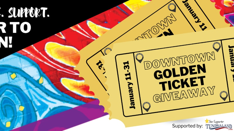 Appleton Downtown Inc. is going to be giving away 10 golden tickets as it hopes to keep the...
