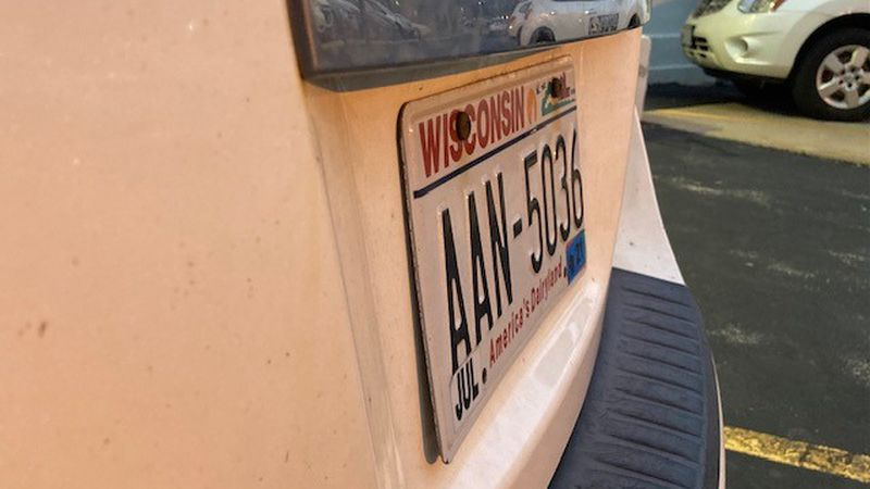 Green Bay Police urge drivers to check their cars to make sure their license plates are not...