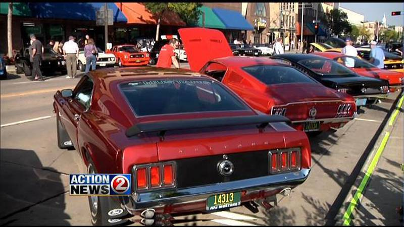 License to Cruise in downtown Appleton (WBAY file photo)