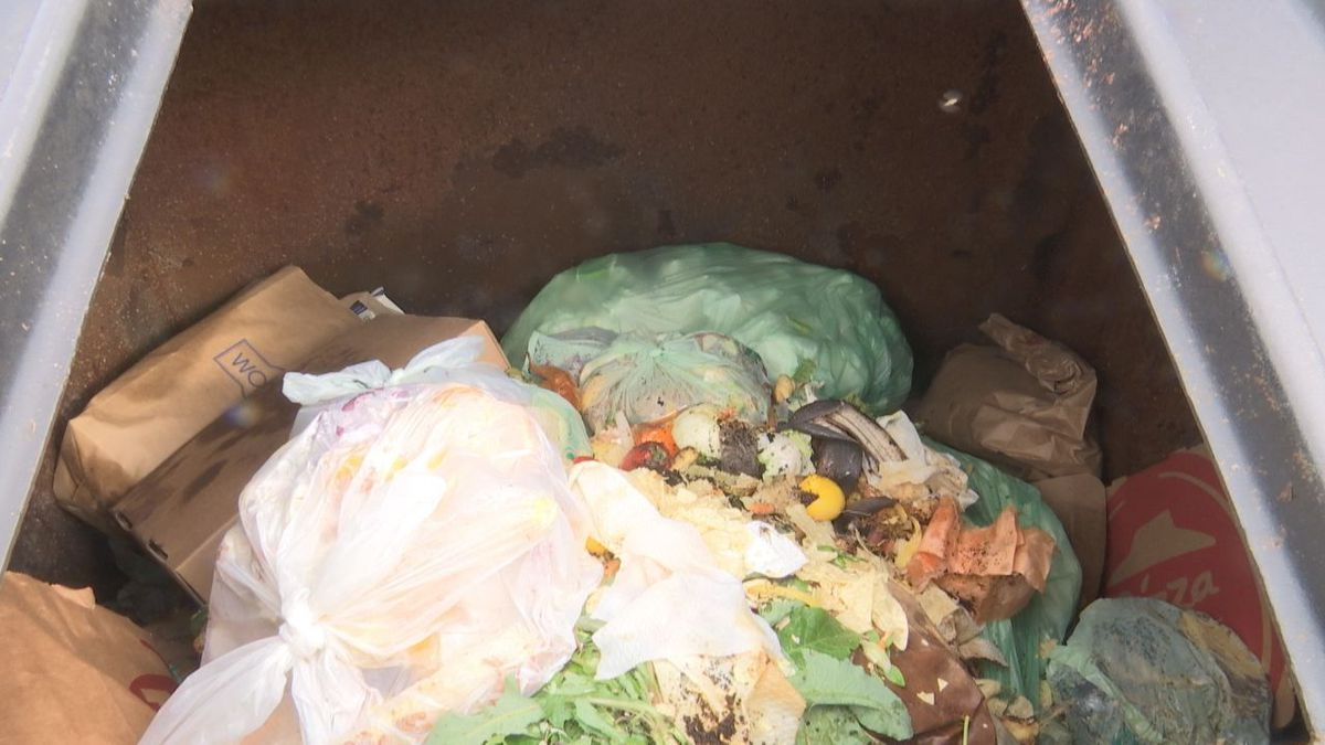 More than 22,000 pounds of organic waste as been diverted from landfills this year through the Brown County Port and Resource Recovery Department's organic waste program.