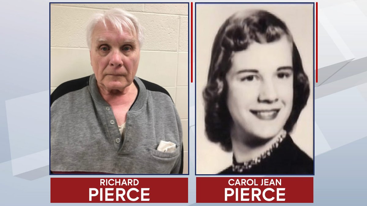 Richard Pierce is accused in the 1975 disappearance of his wife, Carol Jean, in Door County