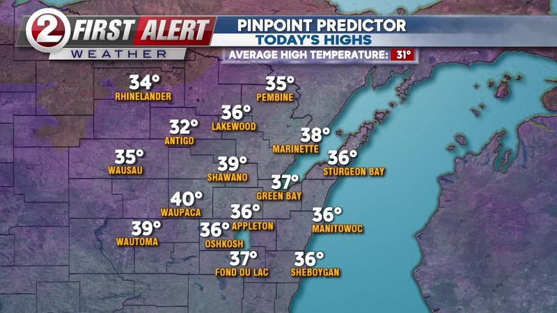 FIRST ALERT FORECAST: Melting ice and snow