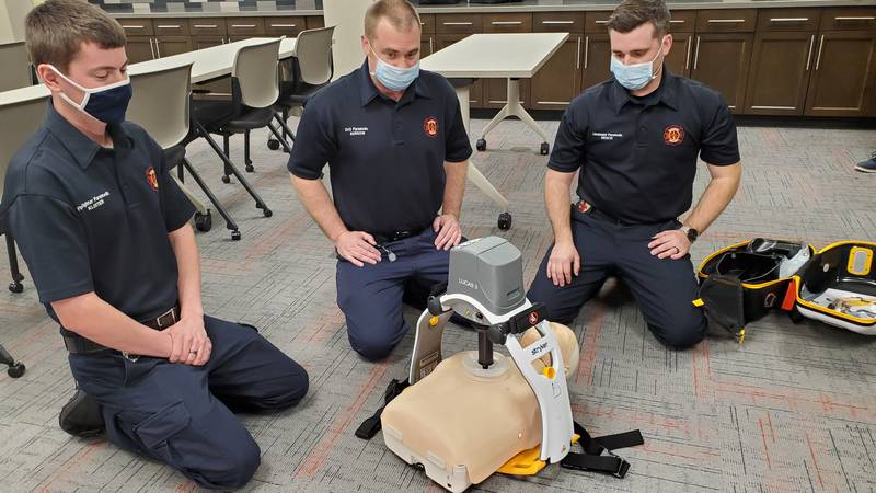 Kaukauna firefighters now have a new life-saving device at their disposal. It's called the...