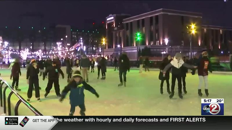 WATCH: Skating into the new year at Titletown