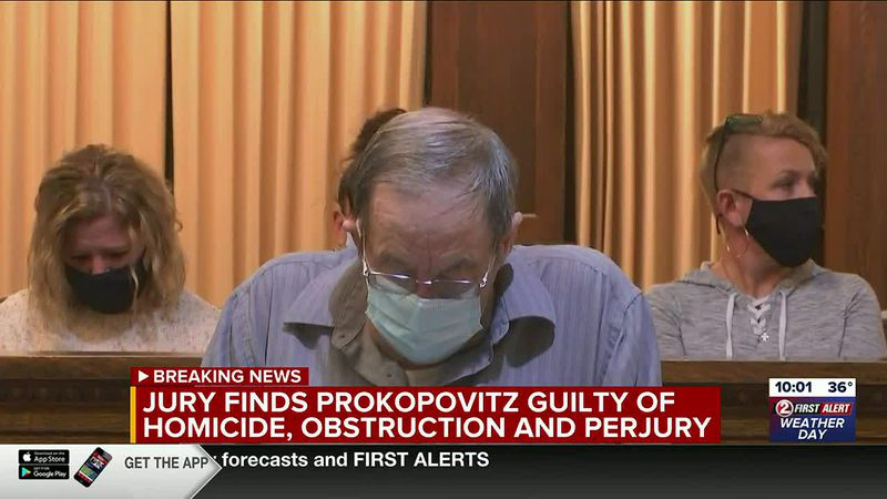 James Prokopovitz found guilty of all charges