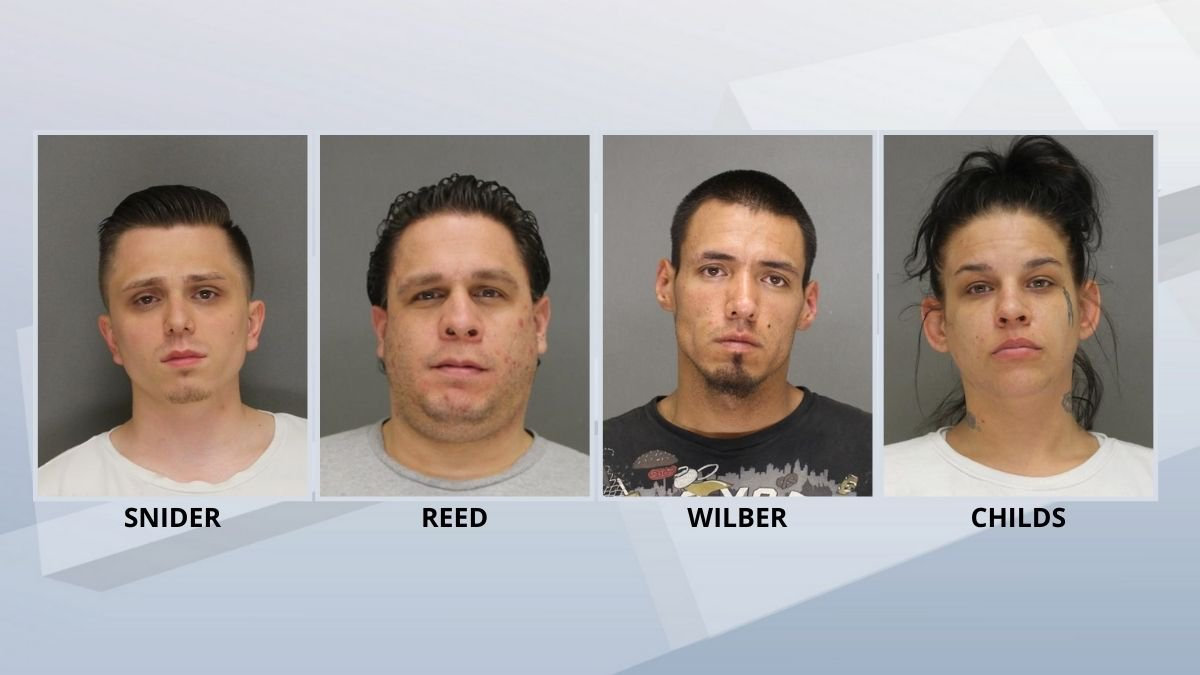 Four people are charged in the case of remains found on the Menominee Indian Reservation.