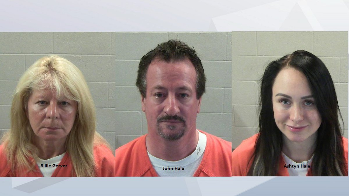 Three arrested by Fox Crossing police for drug charges