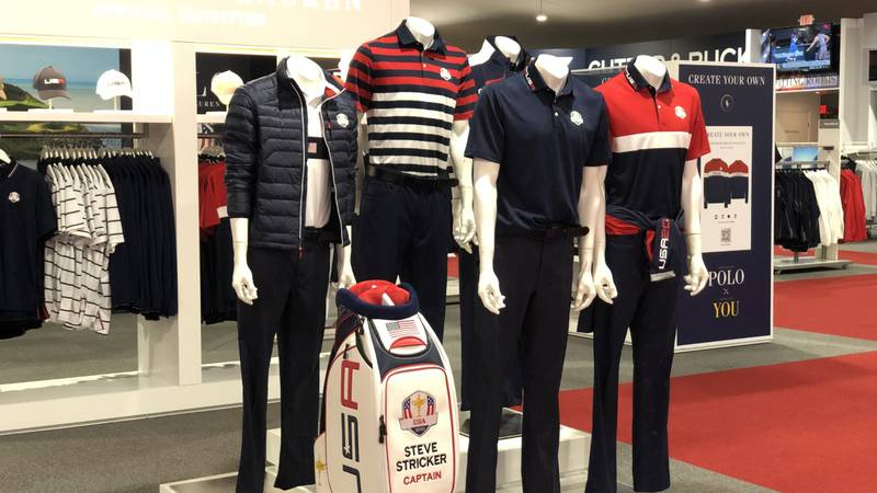 The outfits Team USA will wear for the Ryder Cup are just a few of the 1,300 items for sale at...