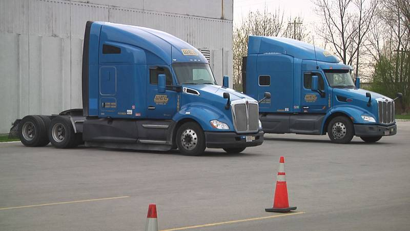 WEL Companies in De Pere take closer look at truck driver training.