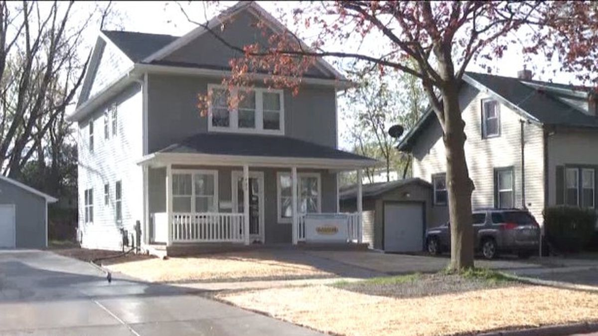 Greater Green Bay Habitat for Humanity to dedicate 119th home. May 21, 2020. (WBAY Photo)