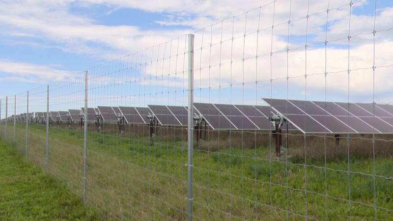 Wisconsin's newest large-scale solar energy project