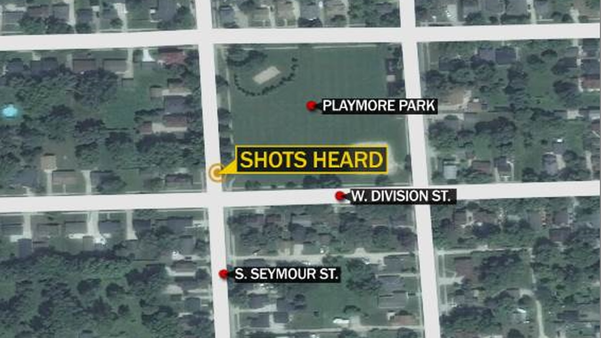 Fond Du Lac Police responded to shots heard near Playmore Park.