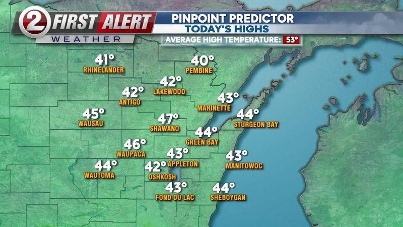 April 14 midmorning forecast