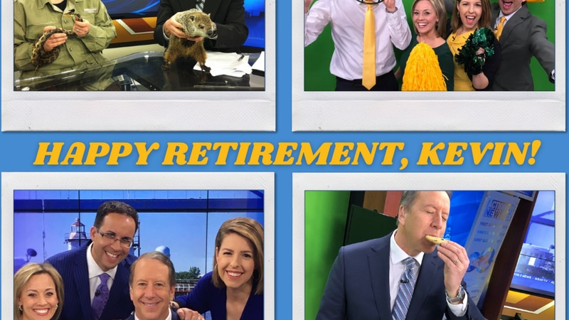 Kevin Rompa is retiring after 32 years at WBAY.