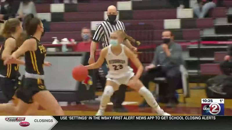 Girls varsity high school basketball