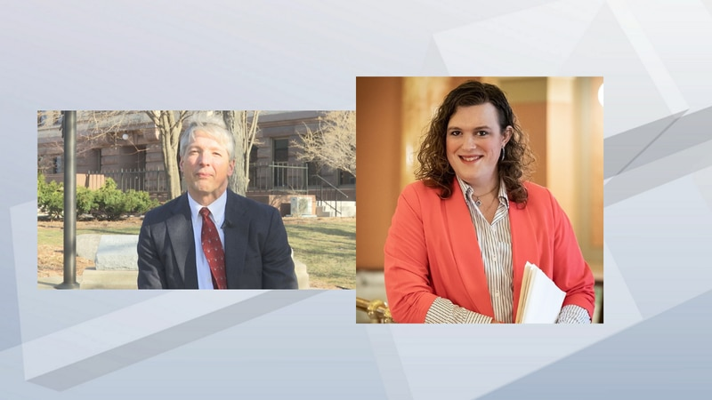Rachel Maes (R.) is challenging incumbent Kendall Kelley (L.) for Brown County Circuit Court...