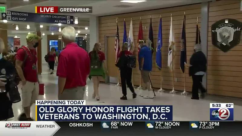 Old Glory Honor Flight airport