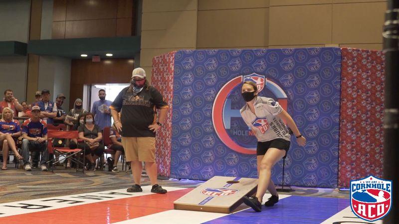 Cornhole World Champion, Maggie Geiger