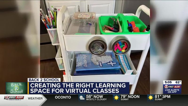 WATCH: Back 2 School virtual learning space