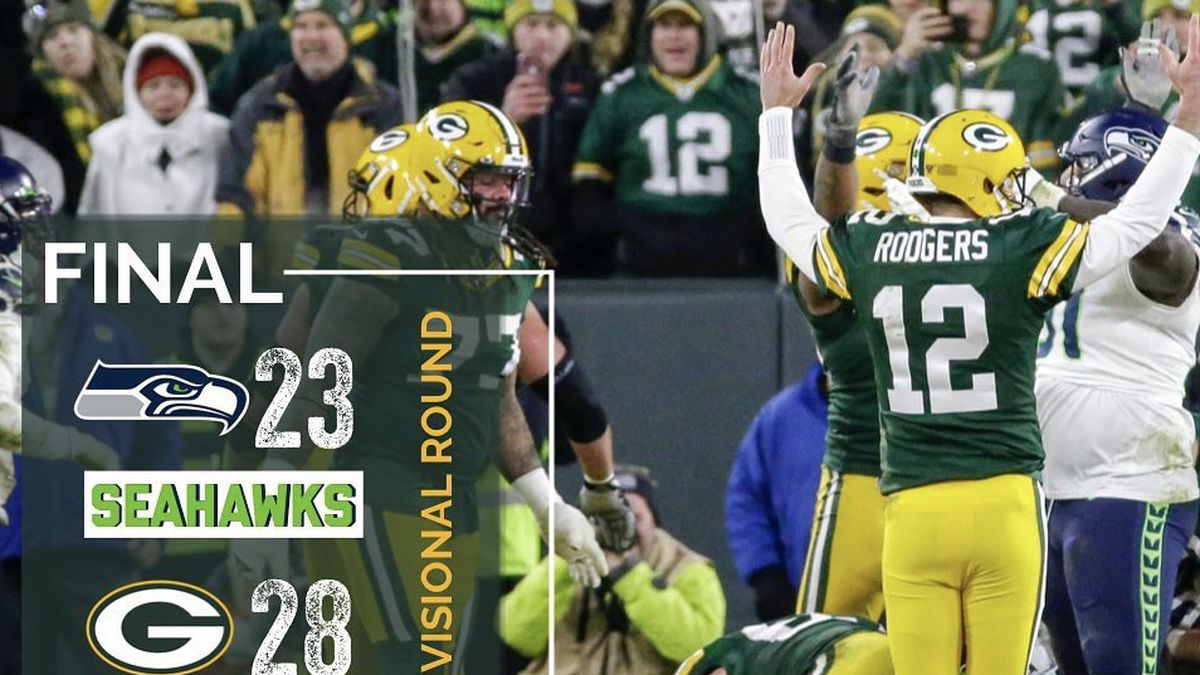 Packers Defeat Seahawks For Trip To Nfc Championship Game