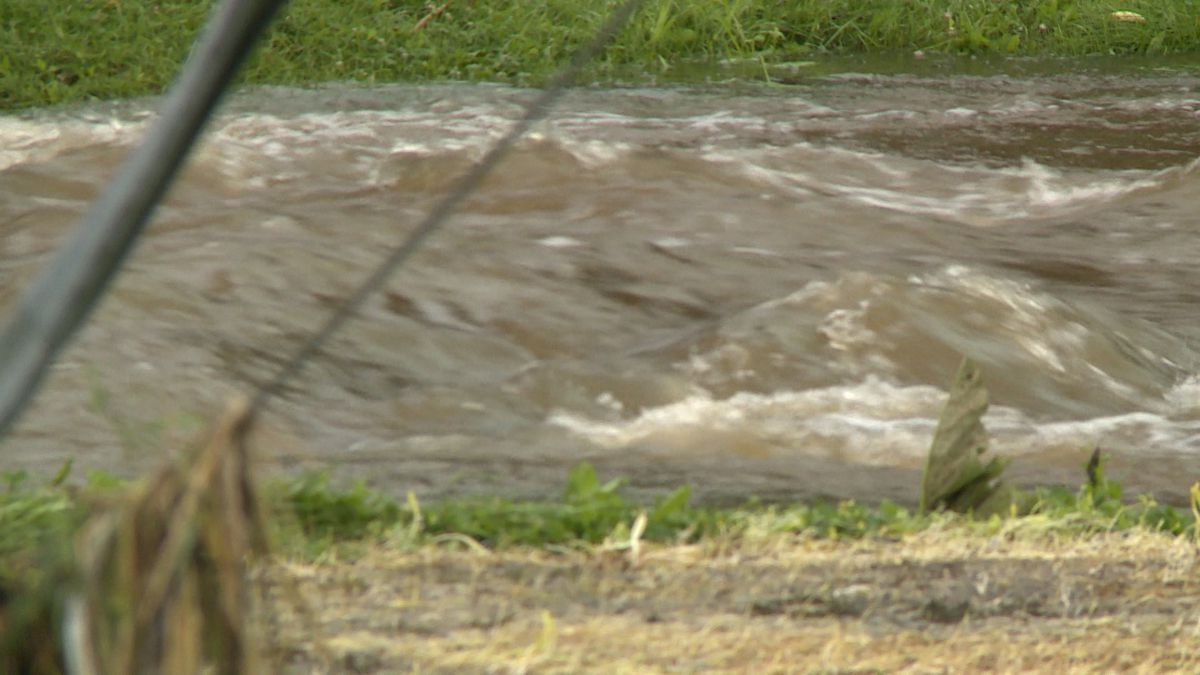 One of the hardest-hit areas by the stormy weather is the Village of Baldwin, where flooding and wind caused damage to homes in the area.