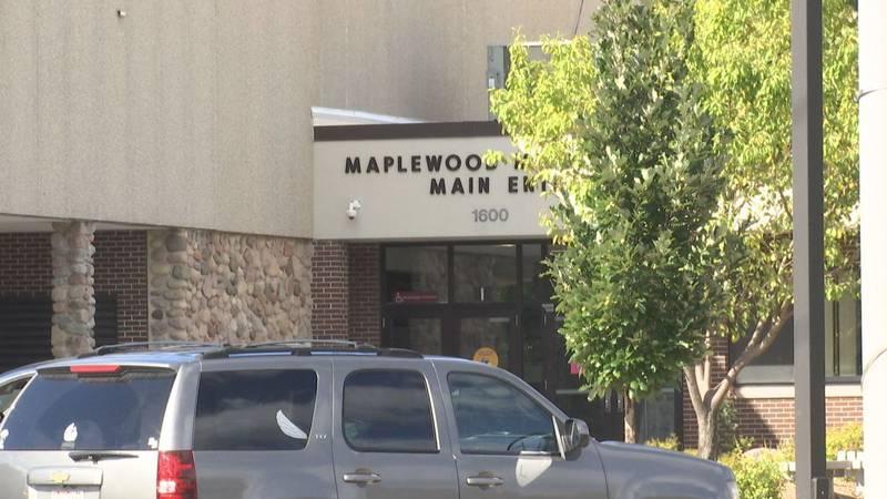 Maplewood Middle School in Menasha, Wisconsin.