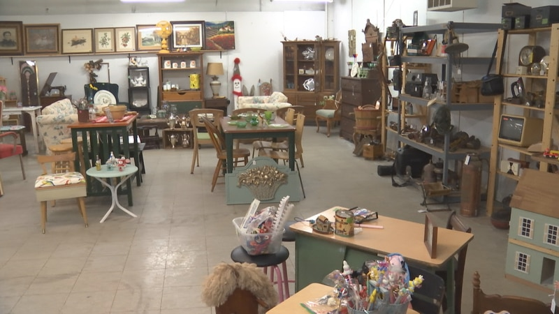 Bowenstreet Repeats thrift store in Oshkosh.