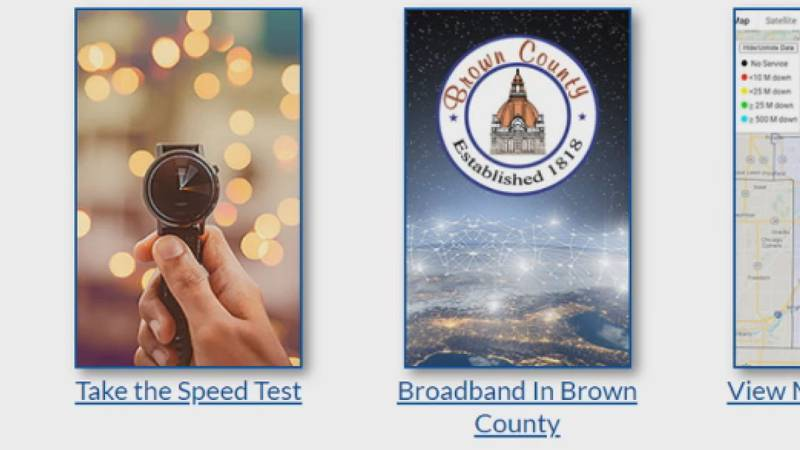 Brown County leaders are encouraging people to take the speed test.
