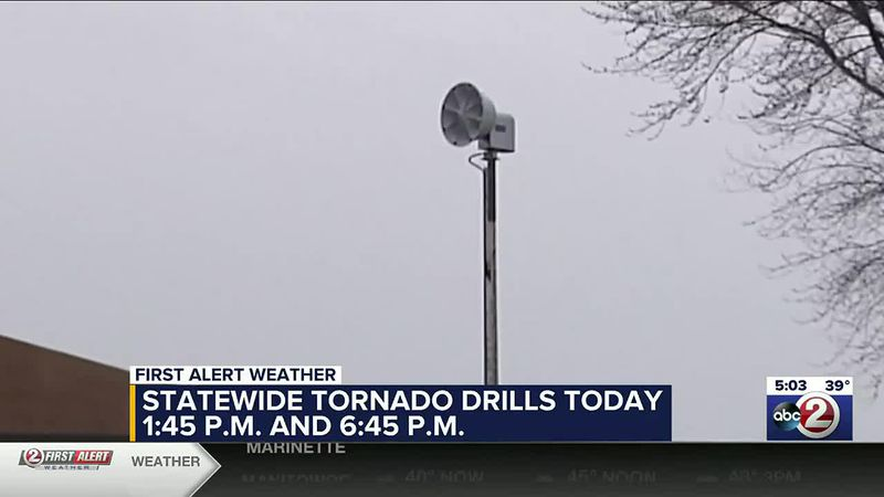 Statewide tornado drill 2021 with super